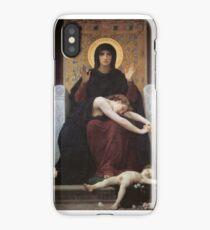 virgin mary ( william adolphe bouguereau ) iPhone Case/Skin