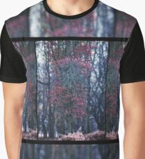 Faerie Trees ~ Fairy Trees With Inner & Outer Border  Graphic T-Shirt