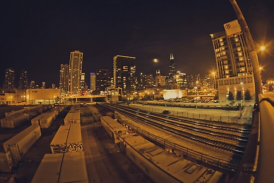 The Chicago Files - #1 | Halsted Rail Yard by JAM1PHOTO
