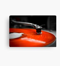 Needle to the Record | TURNTABLISM Canvas Print