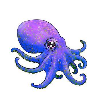 Octopus! - Purple by Jamaal-Raoof