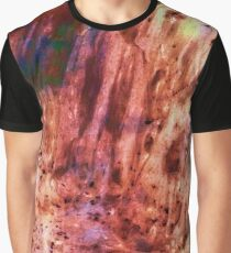 Rainbow Canyon Abstract Be Square Graphic T-Shirt