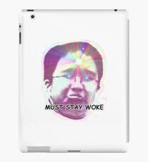 Jonni Must stay Woke iPad Case/Skin