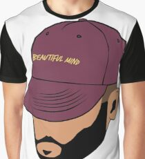 Jon Bellion Face illustation Graphic T-Shirt