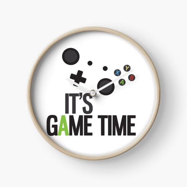 It's Game Time Clock