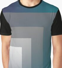 purple gray teal Graphic T-Shirt