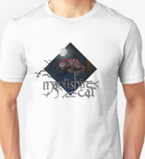 Mantishire cat T-shirt slim fit
