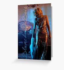 Gillian Anderson as Blanche Dubois Greeting Card