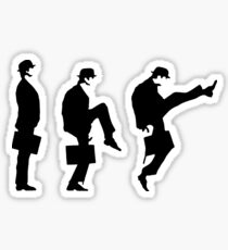 Monty Python Ministry Of Silly Walks Sticker