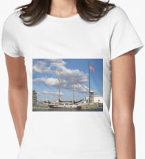 Let's Sail!  Women's Fitted T-Shirt