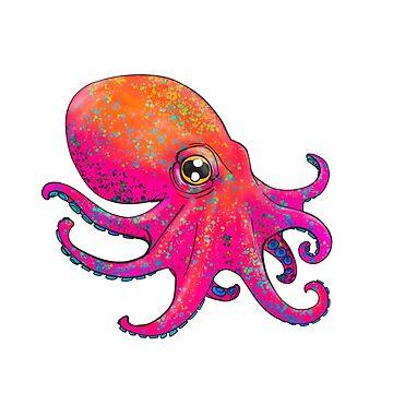 Octopus! - Pink by Jamaal-Raoof