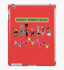 Stop Motion Christmas - Style F iPad Case/Skin