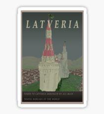 Visit Latveria Sticker