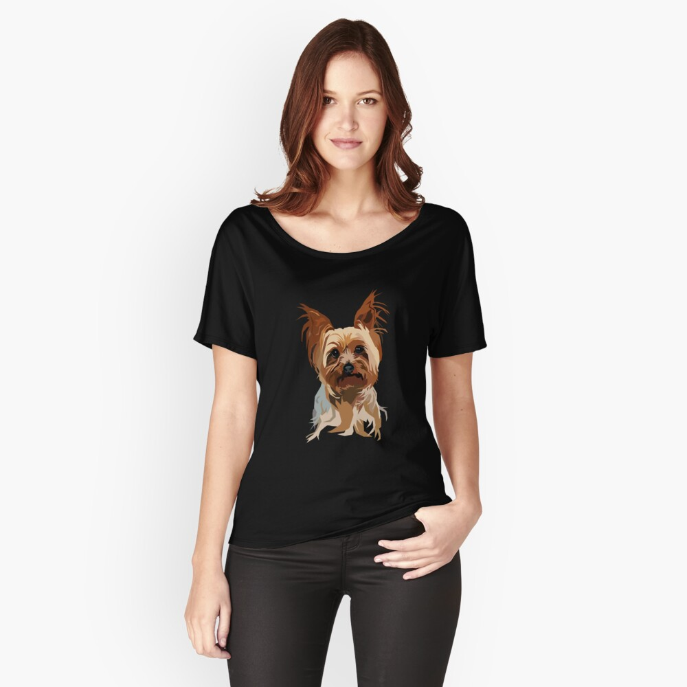 It's A Yorkie Women's Relaxed Fit T-Shirt Front