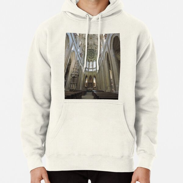 St Barbara's cathedral, Kutna Hora, aisle Pullover Hoodie