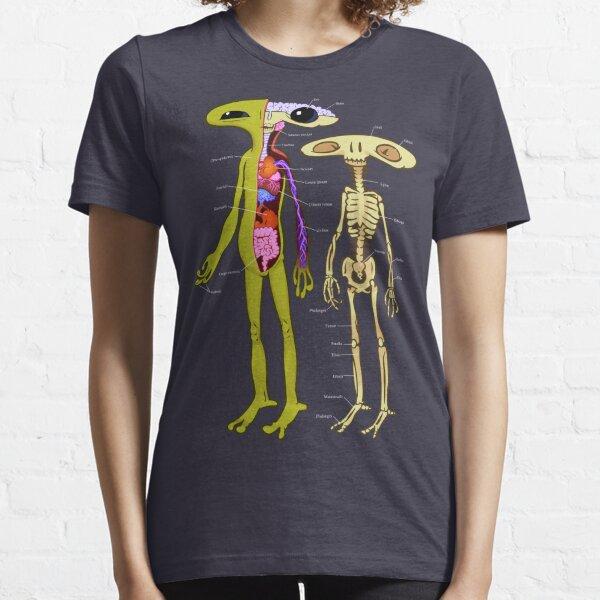 Alien Anatomy - Cutaway Diagram Essential T-Shirt