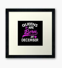 december 10 Framed Print