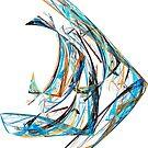 Fractal - Angelfish by Susan Savad