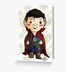 Chibi Doctor Strange 2 Greeting Card