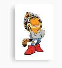 Garfield Bape Canvas Print
