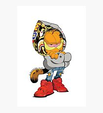 Garfield Bape Photographic Print