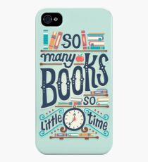 So many books so little time iPhone 4s/4 Case