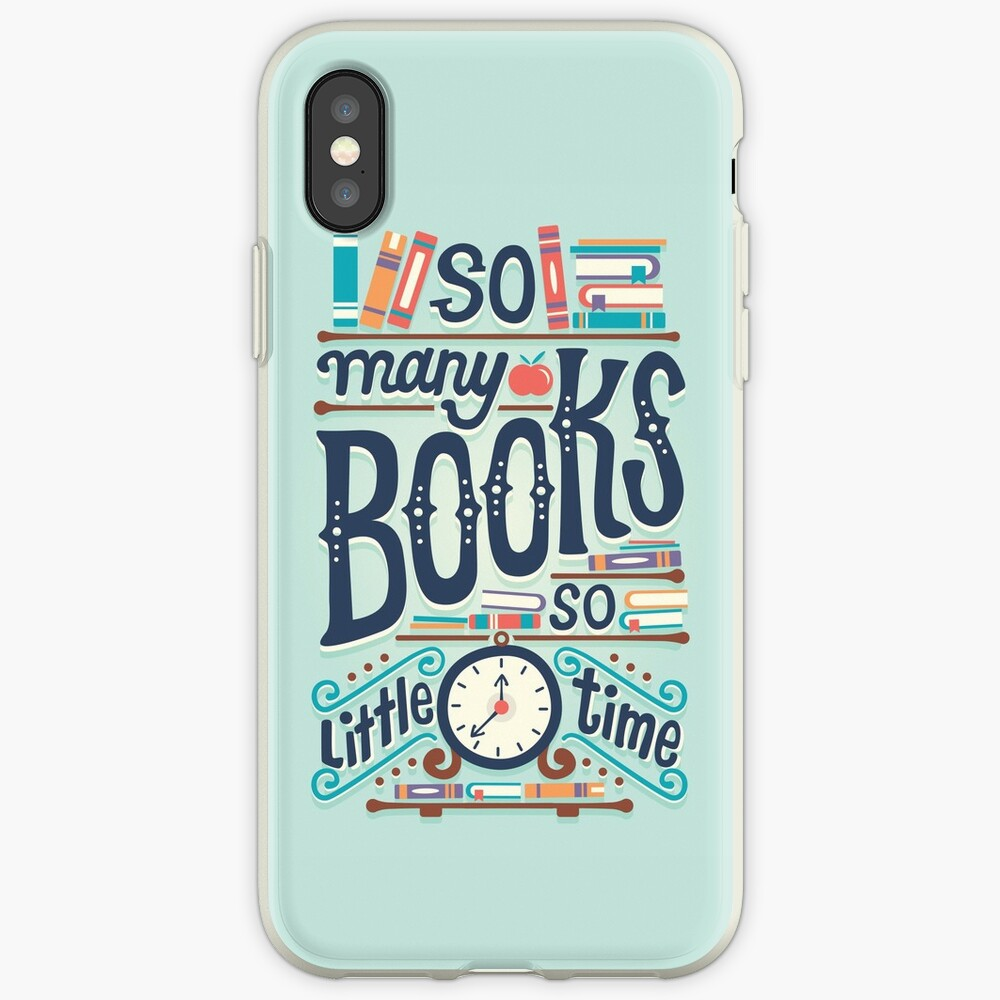 So many books so little time iPhone Case & Cover