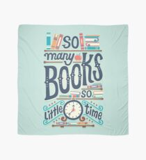 So many books so little time Scarf