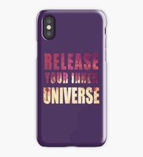 Picture-lettered Explosion slogan iPhone Case/Skin