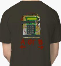 Counter Strike Bomb Text Classic T-Shirt