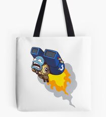 Dumb Tau Tote Bag