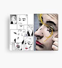 Makeup & Art Canvas Print