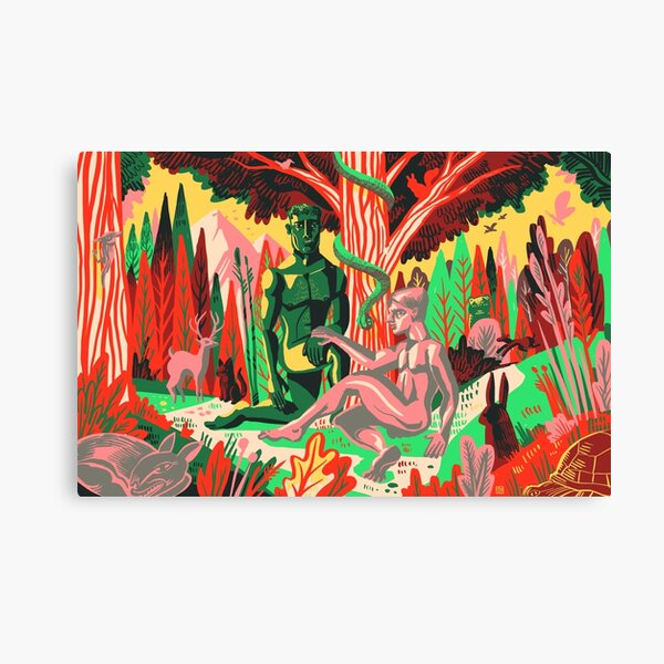 Adam+Steve Canvas Print