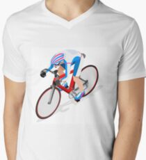 Cycling Track Sports 3D Isometric T-Shirt