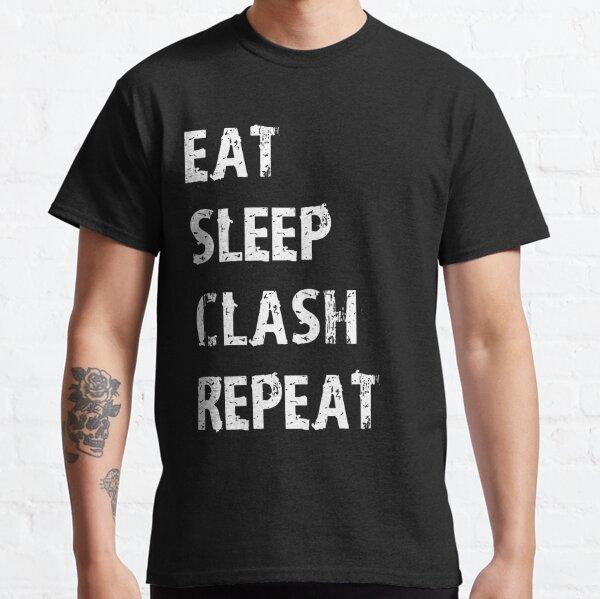 Mangez Sleep Clash Répétez T-Shirt Cadeau Pour Jeu Vidéo Mignon Drôle Cadeau Joueur App Gamer T Shirt Tee T-shirt classique