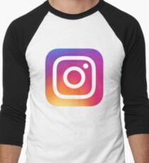 Instagram (Logo) Baseballshirt für Männer