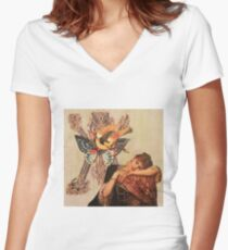 Illumination II Women's Fitted V-Neck T-Shirt