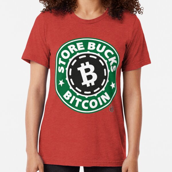 Store Bucks Bitcoin Tri-blend T-Shirt