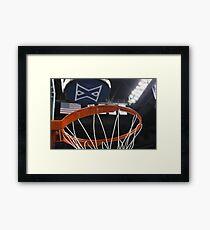 Xavier University Basketball Framed Print