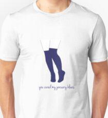 Knee Socks / January Blues Unisex T-Shirt