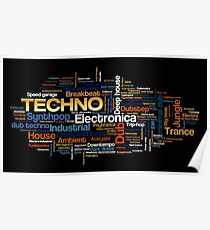 DJ music Poster