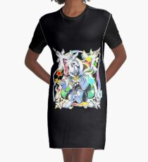 Undertale - Asriel Dreemurr Chibi Graphic T-Shirt Dress