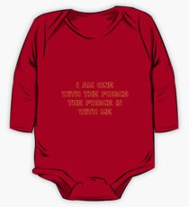 I Am One With The Force - The Force Is With Me II Kids Clothes