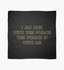 I Am One With The Force - The Force Is With Me II Scarf