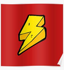 Lightning Bolts Poster