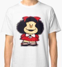 Camiseta clásica Fundas y pegatinas para móviles mafalda