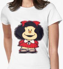 Camiseta entallada Fundas y pegatinas para móviles mafalda