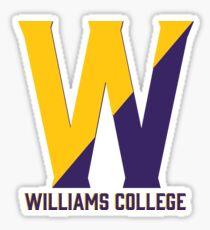 Williams W Sticker