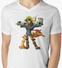 Jak and Daxter Mens V-Neck T-Shirt