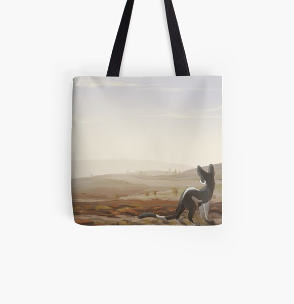 A Cold Day on the Moor All Over Print Tote Bag